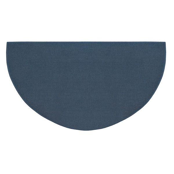 Blue Guardian Half Round Fiberglass Hearth Rug - 4' or 5' image number 0