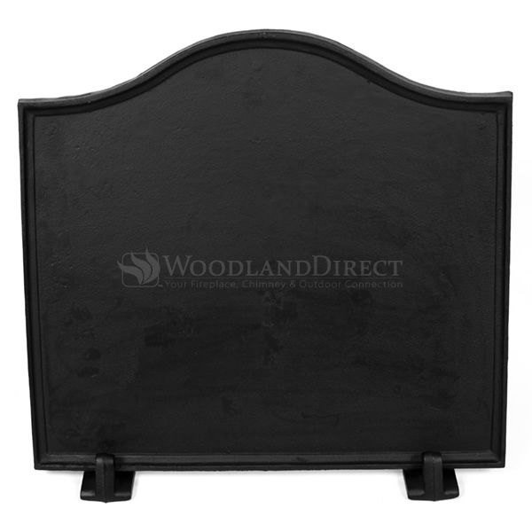 Cast Iron Fireback Feet Set - Black image number 1