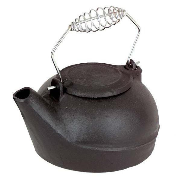 Black Cast Iron Humidifier - 2.7 Quarts image number 0