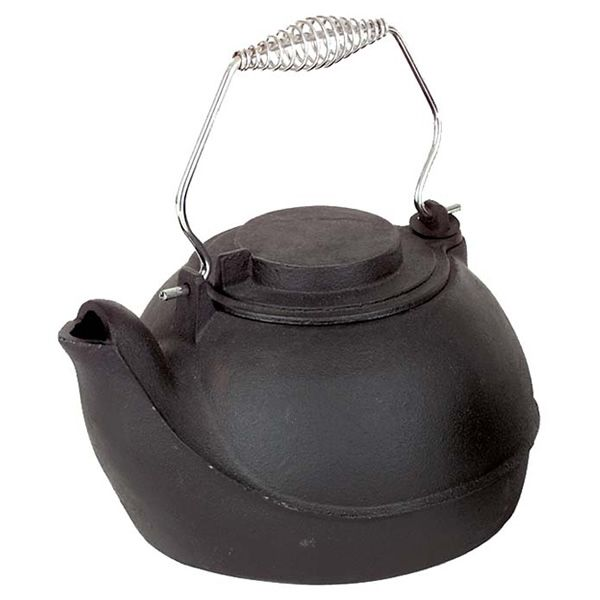 Black Cast Iron Humidifier - 5 Quarts image number 0