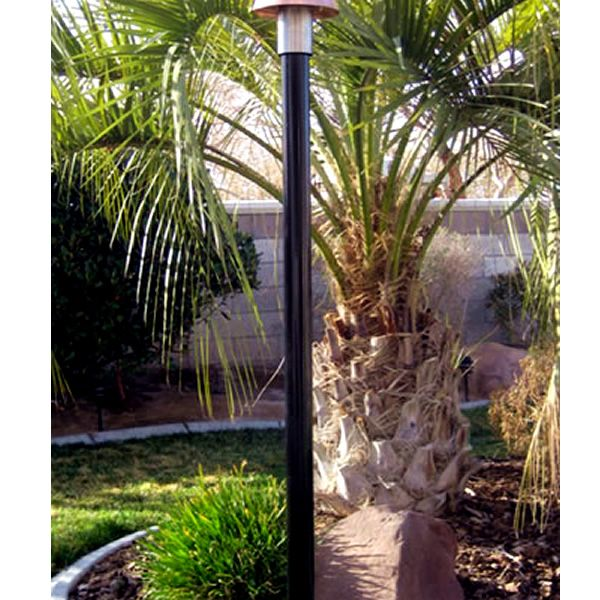 Black Aluminum Torch Pole image number 0