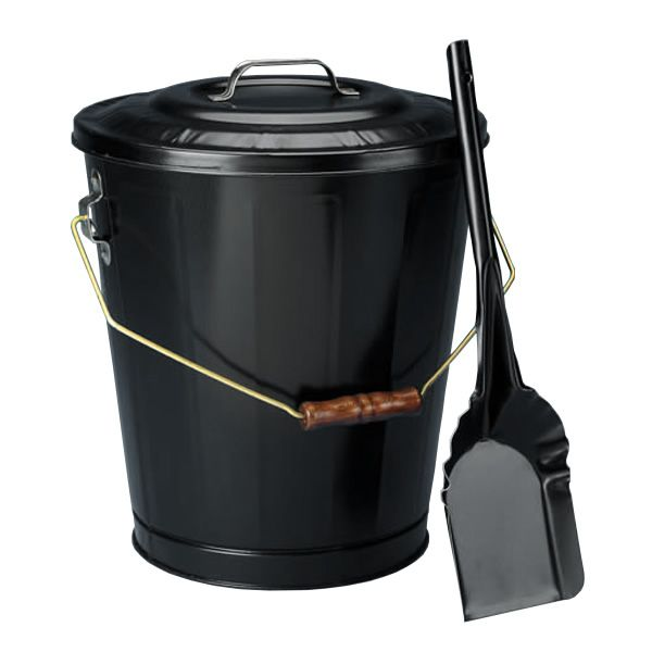 Black Ash Container & Shovel Set image number 0