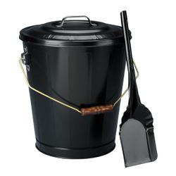 Black Ash Container & Shovel