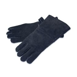 Black Leather Hearth Gloves