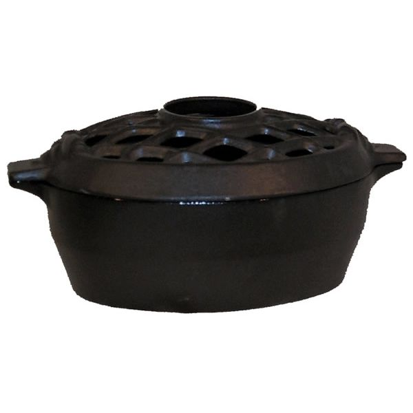 Lattice Wood Stove Steamer - Black Matte image number 0