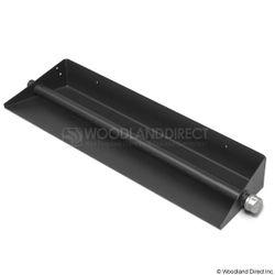 Black Steel Gas Ember Pan