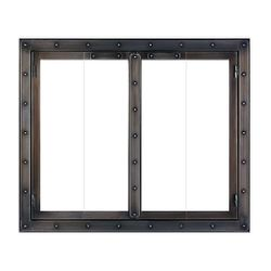 Black Rock ZC Fireplace Glass Door