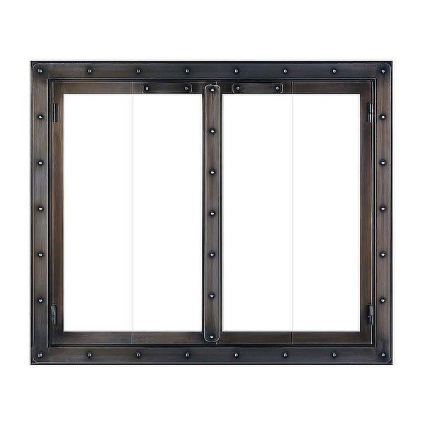 Black Rock ZC Fireplace Glass Door image number 0