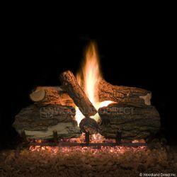 Blazed Oak Vented Gas Logs Only