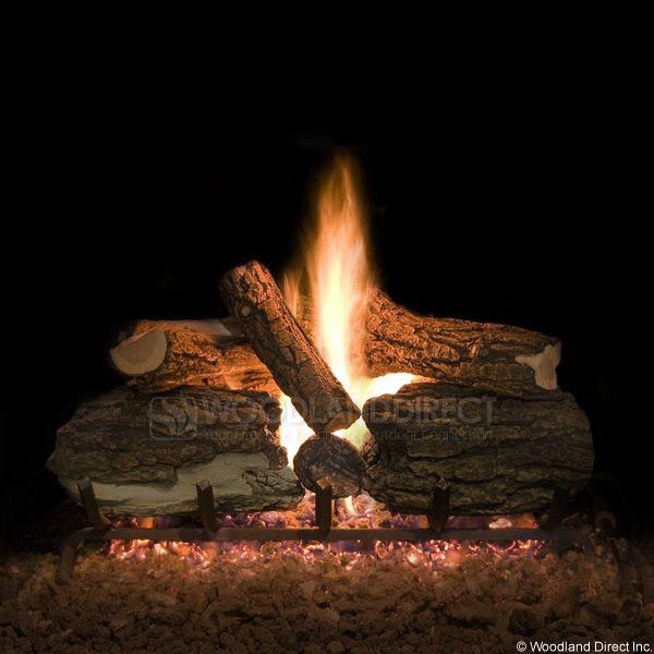 Blazed Oak Vented Gas Logs Only image number 0