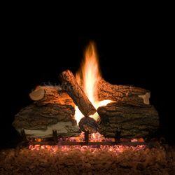 Blazed Oak Vented Gas Log Set