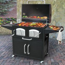 Bravo Premium Charcoal BBQ Grill