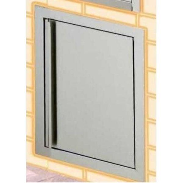 Broilmaster Built-In Stainless Steel Door Kit image number 0