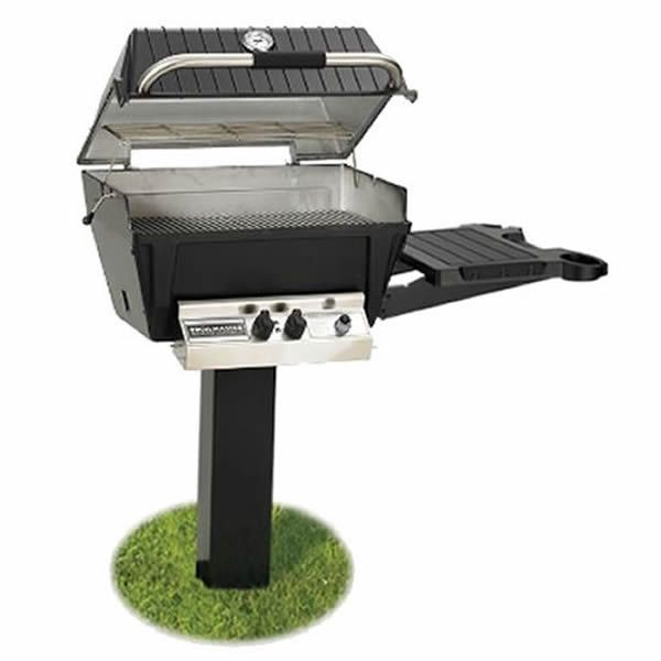 Broilmaster Deluxe H4X In-Ground Gas Grill image number 0
