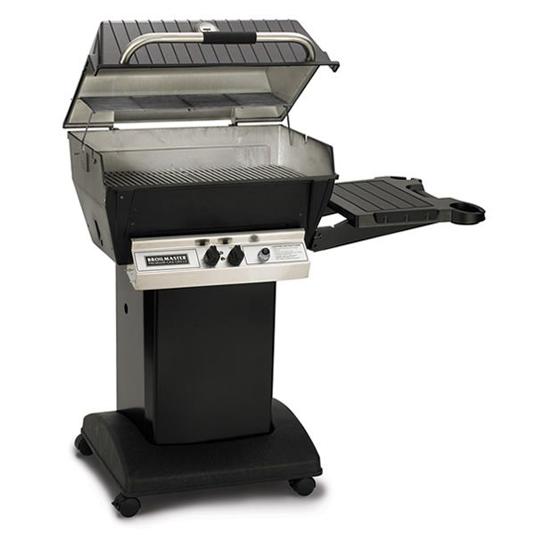 Broilmaster Deluxe H3X Cart Mount Gas Grill image number 1
