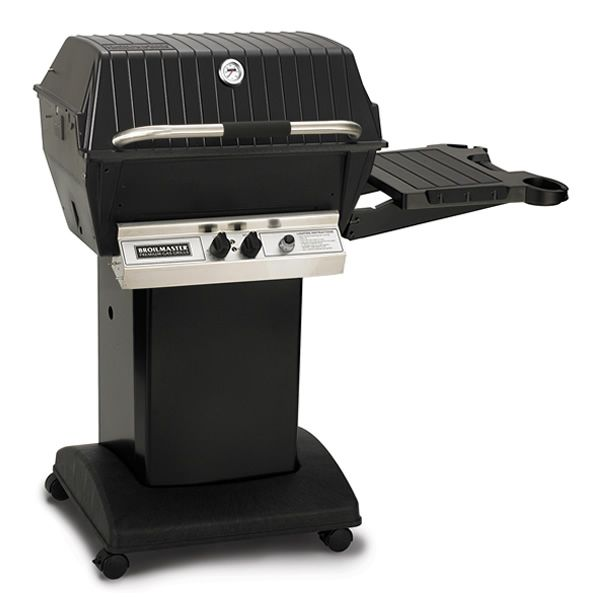 Broilmaster Deluxe H3X Cart Mount Gas Grill image number 0