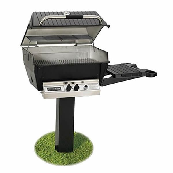 Broilmaster Deluxe H3X In-Ground Gas Grill image number 0