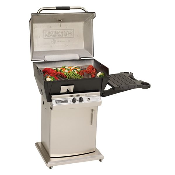 Broilmaster Qrave Q3 Cart Mount Gas Grill image number 1