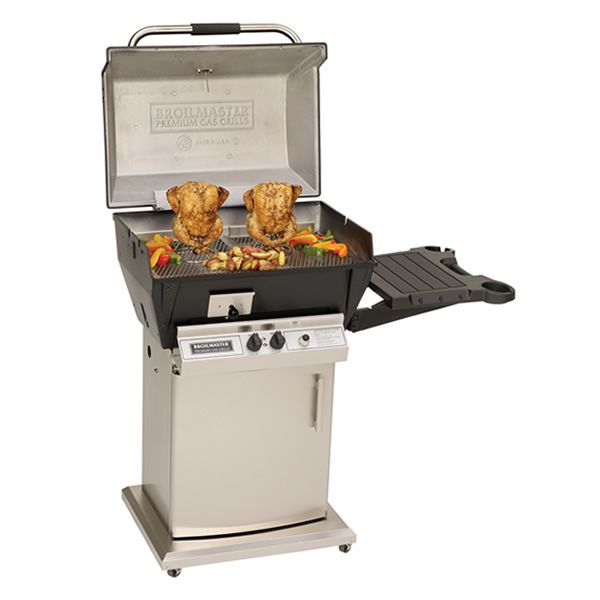Broilmaster Qrave Q3 Cart Mount Gas Grill image number 2