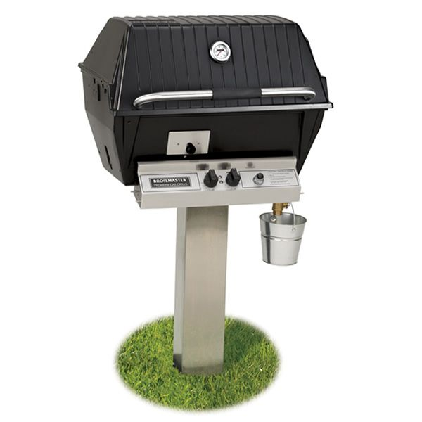 Broilmaster Qrave Q3 In-Ground Gas Grill image number 1