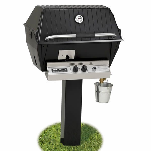 Broilmaster Qrave Q3 In-Ground Gas Grill image number 0
