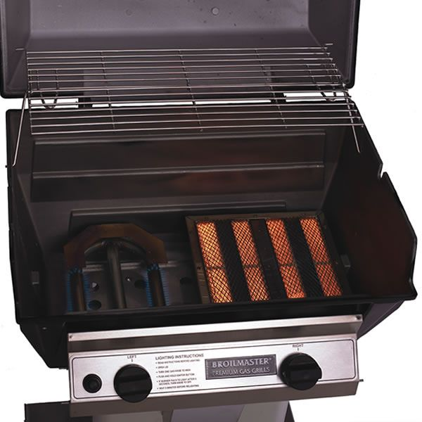 Broilmaster R3 Hybrid Infrared Patio Post Gas Grill image number 2