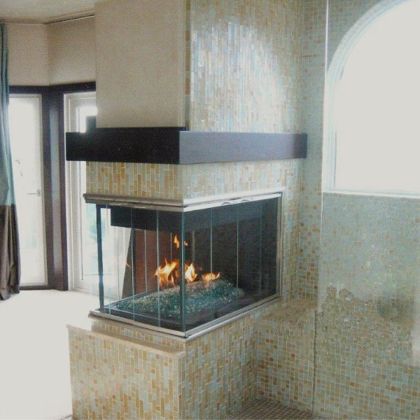 Brookfield Masonry Multi-Sided Fireplace Door image number 4