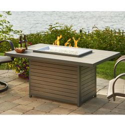 Brooks Outdoor Gas Fire Pit Table