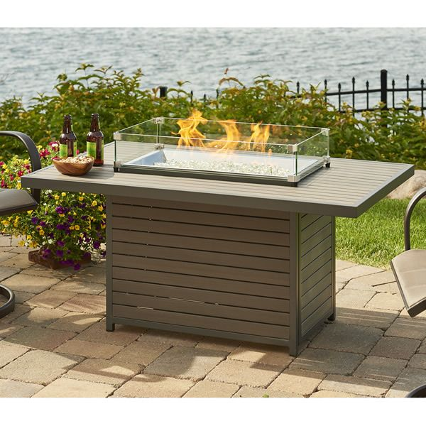 Brooks Outdoor Gas Fire Pit Table image number 2