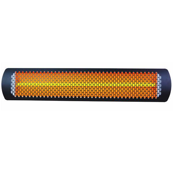 "Bromic Tungsten Smart-Heat Black 2000 Watt Patio Heater - 44"" image number 0"