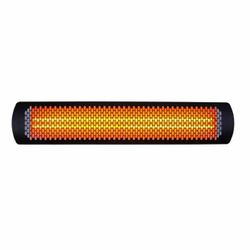 Bromic Tungsten Smart-Heat Black 4000 Watt Patio Heater - 44""