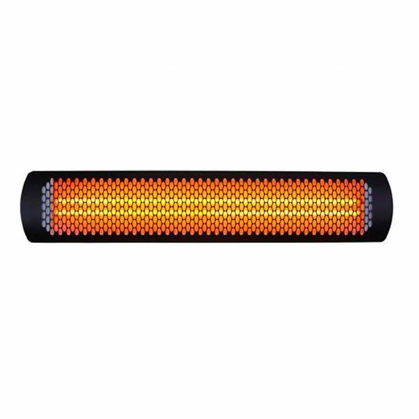 "Bromic Tungsten Smart-Heat Black 4000 Watt Patio Heater - 44"" image number 0"