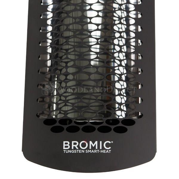 "Bromic Tungsten Smart-Heat Black 6000 Watt Patio Heater - 56"" image number 2"