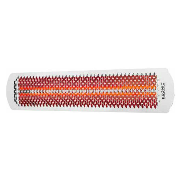 "Bromic Tungsten Smart-Heat White 4000 Watt Patio Heater - 44"" image number 1"