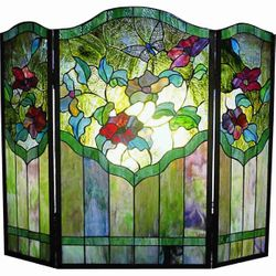 Butterfly Fireplace Screen