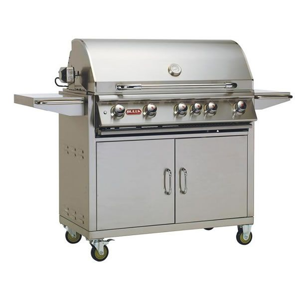 Bull Brahma Cart-Mount Gas Grill image number 0