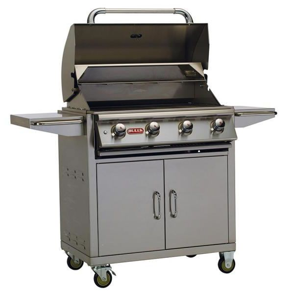 Bull Lonestar Select Cart-Mount Gas Grill image number 1