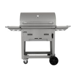 Bull Outdoor Bison Cart Charcoal BBQ Grill