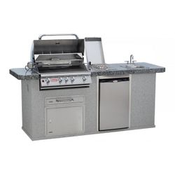 Bull Outdoor Kitchen Grill Island
