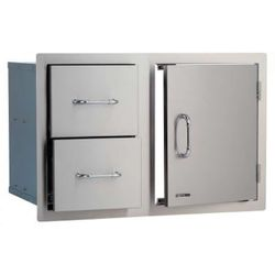 Bull Outdoor Stainless Steel Door/Drawer Combo