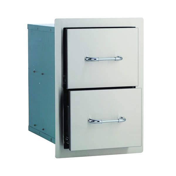 Bull Outdoor Stainless Steel Double Drawer image number 0