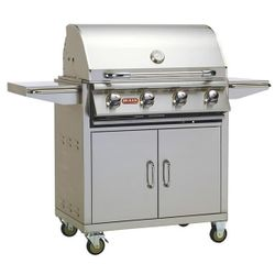 Bull Outlaw Cart-Mount Gas Grill