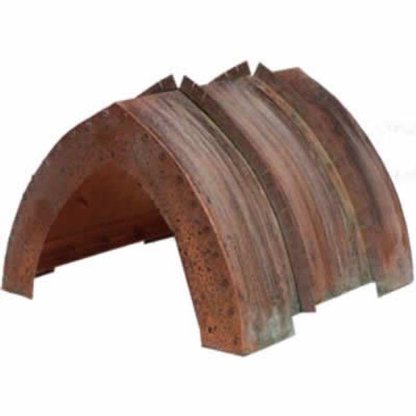 Burnished Prague Custom Chimney Shroud (5) image number 0