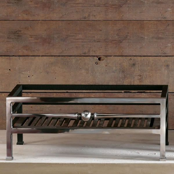 "Byron Freestanding Fire Basket - 22"" image number 1"