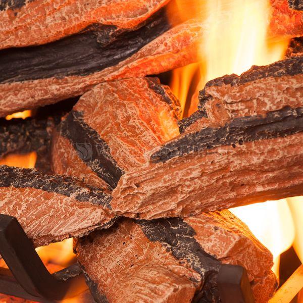 Golden Blount Texas Bonfire Vented Gas Log Set image number 1