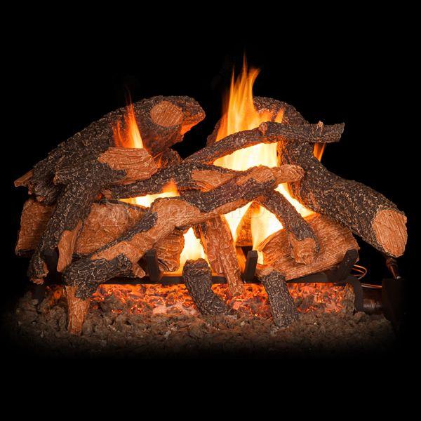 Golden Blount Texas Hickory Fire Vented Gas Log Set image number 0