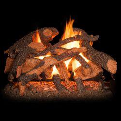 Golden Blount Texas Hickory Fire Vented Gas Log Set