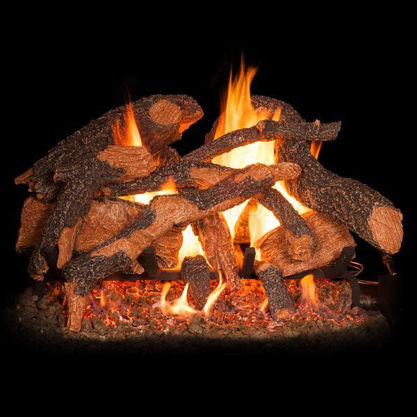Golden Blount Texas Hickory Fire Vented Gas Log Set image number 1