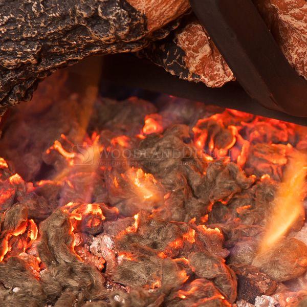 Golden Blount Texas Hickory Fire Vented Gas Log Set image number 2
