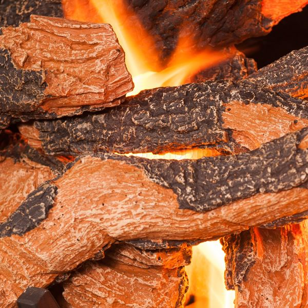 Golden Blount Texas Hickory Fire Vented Gas Log Set image number 3